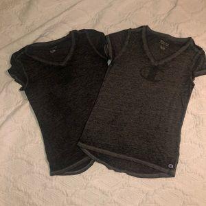 Champion burnout shirts size Small